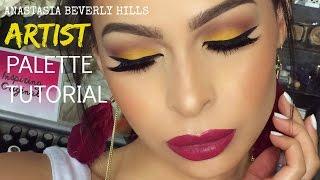 Anastasia Beverly Hills Artist Palette Summer Makeup Tutorial| Krystal Allen