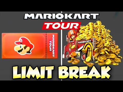 Mario Kart Tour - How To LIMIT BREAK Coins And EXP!
