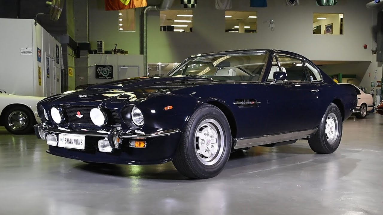 1978 Aston Martin V8 'Oscar India' Coupe -  2018 Shannons Sydney Winter Classic Auction