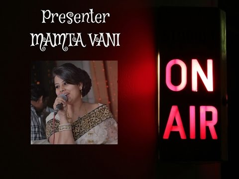 Mamta vani's first Radio show (SHAAM-E-GHAZAL) for Mumbai AIR.