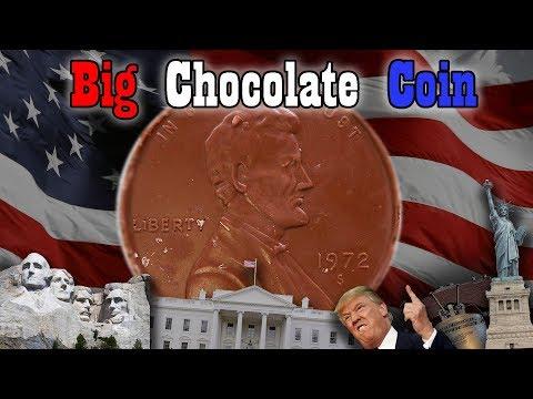 Big DIY Chocolate Coins
