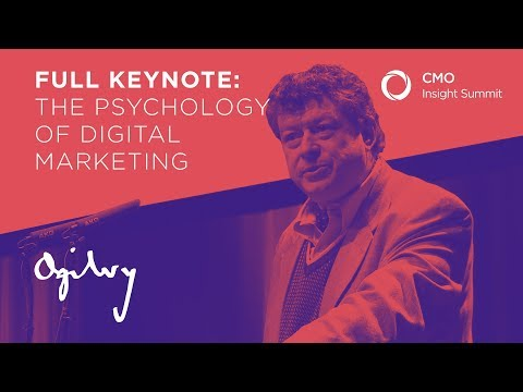 The psychology of digital marketing. Rory Sutherland, Ogilvy