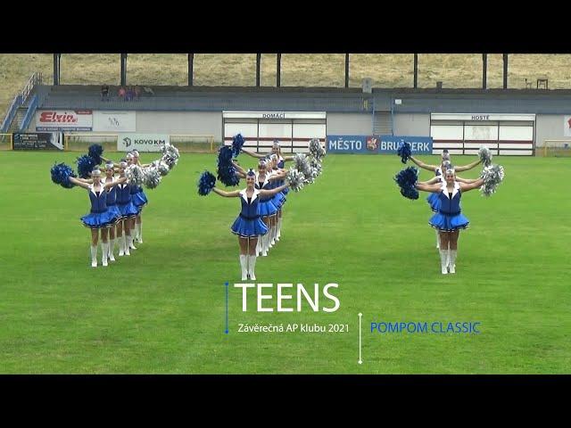 AP klub Brušperk - Závěrečná 2021 - Teens - PomPom Classic