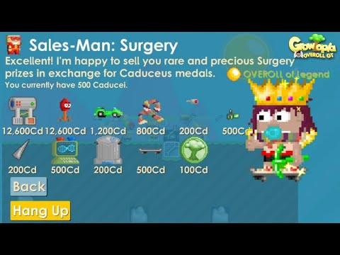 Growtopia | Getting Skateboard from Surgery