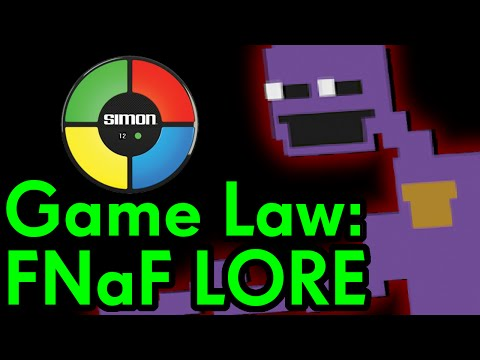 Game Law: Five Nights at Freddy's Lore「Adventure Archive」