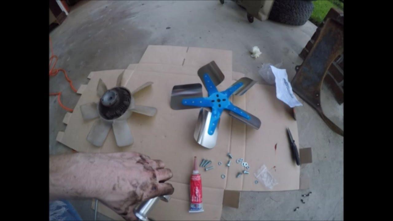 Flex Fan Install 22re 22r 20r Youtube 87 Nissan D21 Wiring