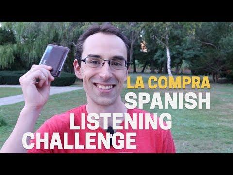 #4 La Compra - Advanced Spanish Listening Challenge (with Spanish subtitles)
