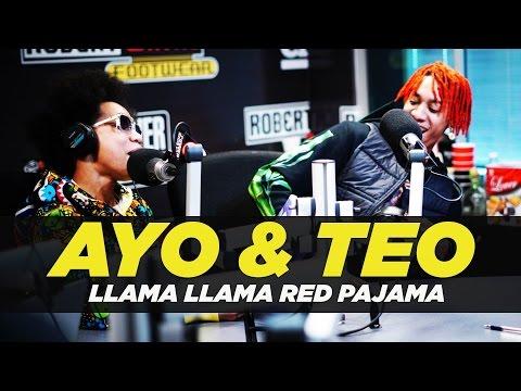 Ayo & Teo 'Rolex' Llama Llama Red Pajama Freestyle