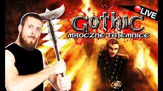 GOTHIC 1 - MROCZNE TAJEMNICE ☠️ ŚWIĄTYNIA ŚNIĄCEGO! - Na żywo