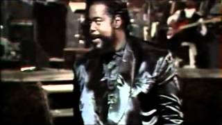 Can't Get Enough Of Your Love Baby   Barry White Live Concert 1990 Gent Belgium   YouTube