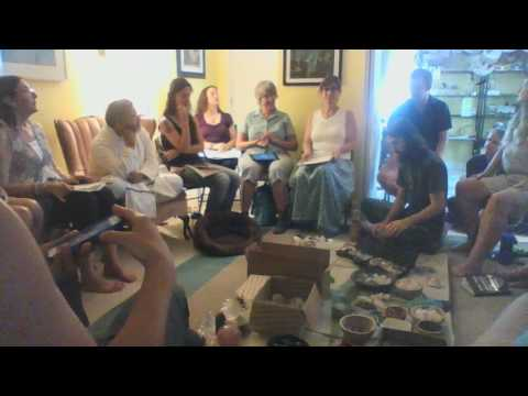 PranaShakthi Crystal Healing with Guruji Arun 1 of 2 - 6.26.16