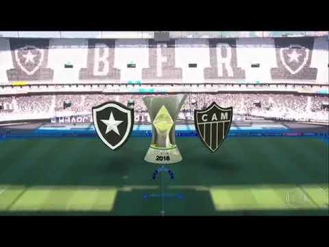 Botafogo 0 x 3 Atlético-MG - Melhores Momento Brasileirão(19/08/2018)