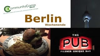 Wochenende in Berlin, Blog´n´Burger, ccb14, Hotel | Vlog