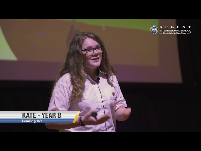 Leading We by Kate | Year 8 at TEDxSunmarke