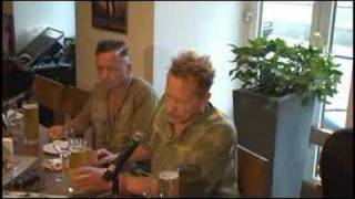Sex Pistols - press-conference (Moscow, 24/06/2008)