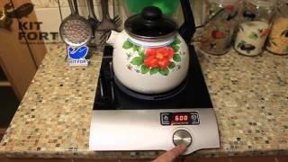 Индукционная плитка Kitfort KT-108