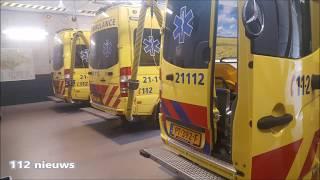 Dagje bij ambupost Oss en een rondleiding in de ambulance