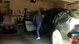 brief demonstration of garage door break in and solutions