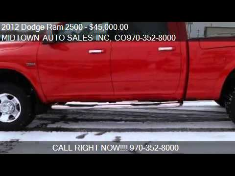 2012 dodge ram 2500 laramie power wagon 4wd for sale in. Black Bedroom Furniture Sets. Home Design Ideas