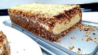 KEKS TORTICA KOJA SE NE PEČE-BISCUIT CAKE-NO BAKE