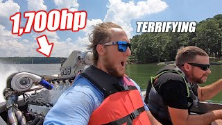 Riding In Mike Finnegan's 11.7 Liter Twin Turbo BIG BLOCK Jet Boat!!! (Nearly 2,000 Horsepower)