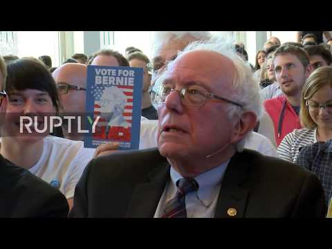 Germany: Sanders slams Trump policies on tax and climate change in Berlin