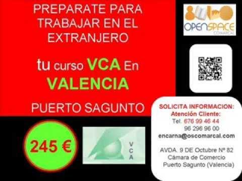 FORMACION BASIC VCA EN VALENCIA  oscomarcal AGENCIA COLOCACION 1000000092