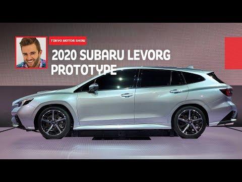 2020 Subaru Levorg Prototype: First Look