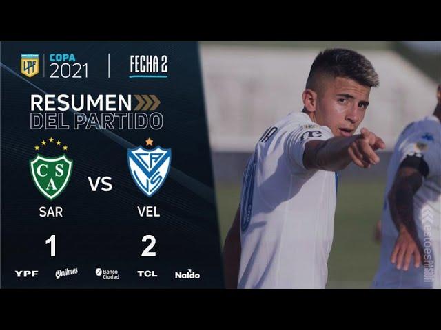 Copa de la Liga | Fecha 2 | resumen de Sarmiento - Vélez