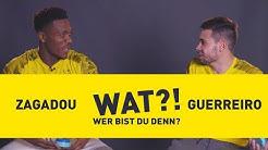Who am I? | BVB-Challenge with Raphael Guerreiro & Dan-Axel Zagadou