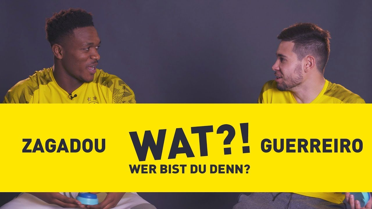 Wat?! Wer bist du denn? | BVB-Challenge mit Raphael Guerreiro & Dan-Axel Zagadou
