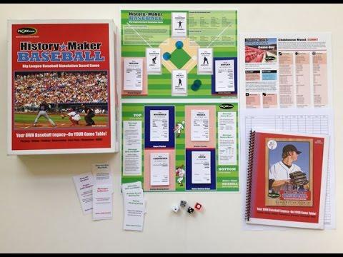 Hands On: History Maker Baseball
