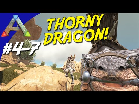 THORNY DRAGON TAMING! - ARK Survival Evolved Dansk Sæson 4 - Ep 7 (Scorched Earth)