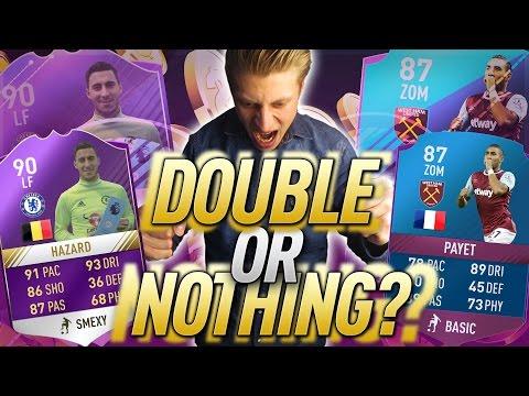 FIFA 17: DAS ERSTE DOUBLE OR NOTHING - POTM HAZARD - ESKALATION PUR