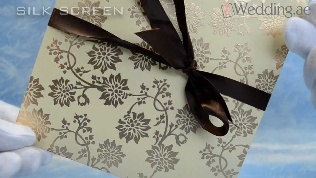 Dubai wedding cards printing uae youtube dubai wedding cards printing uae stopboris Choice Image
