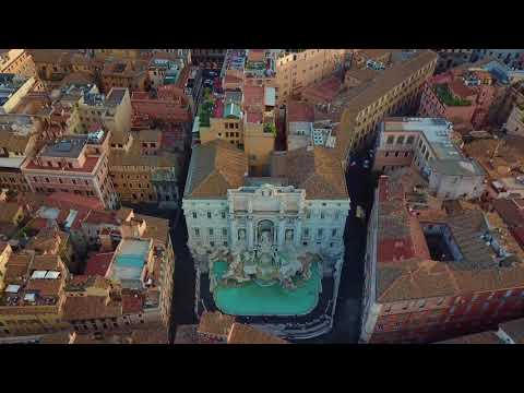 Drone In The City Of Rome - 2018