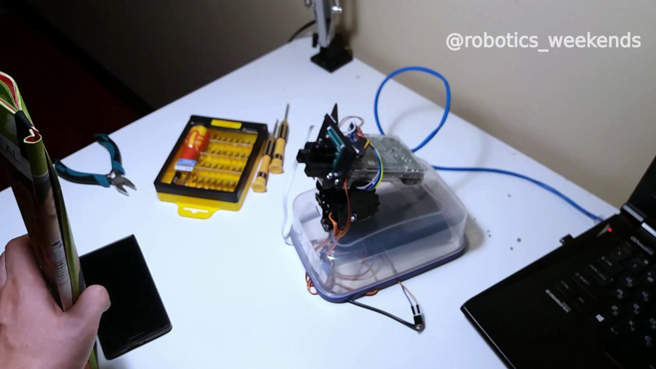 Robotics Weekends #4 (Part 2) - Smart object tracking camera