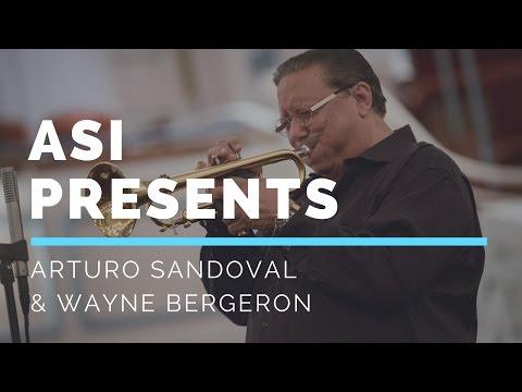 Arturo Sandoval With Wayne Bergeron!