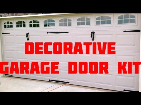 Easy install home curb appeal carriage garage door youtube easy install home curb appeal carriage garage door solutioingenieria Image collections