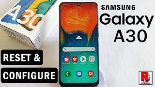 How To Reset & Configure Samsung Galaxy A30 screenshot 3