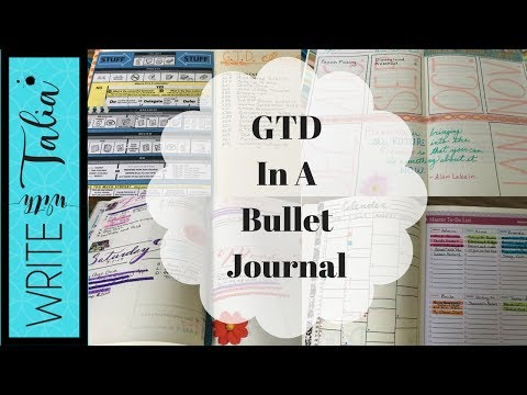 GTD In A Bullet Journal