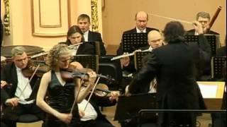 J. Brahms Violin Concerto D-dur Op. 77, 2 mvt Oksana Hretchyn