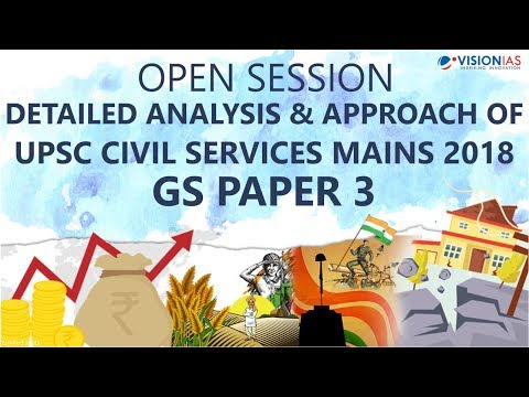 GS Paper 3 Analysis | UPSC Civil Services Mains 2018