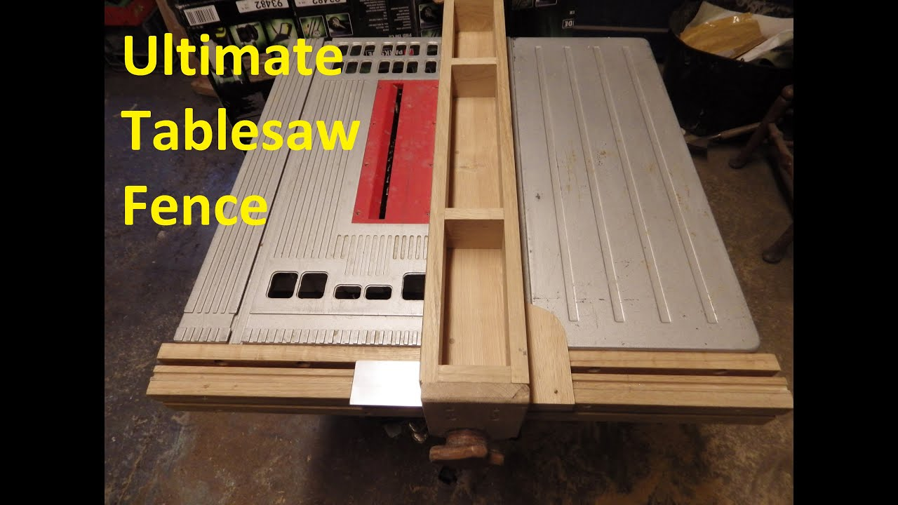 Exceptionnel The Ultimate Table Saw Fence