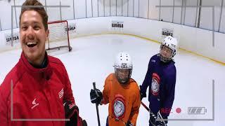 Тренировка для хоккеистов 8 12 лет на технику катания /с шайбой