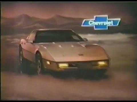 SUPER-COOL 1983 CORVETTE Commercial
