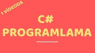 1 Saatte C Programlama Dilini Öğrenin