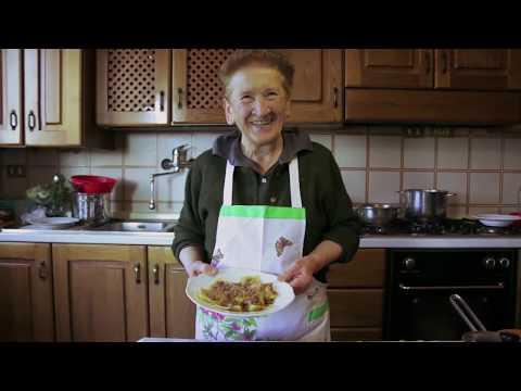 Pasta Grannies discover potato filled ravioli called Tortelli Di Mugello