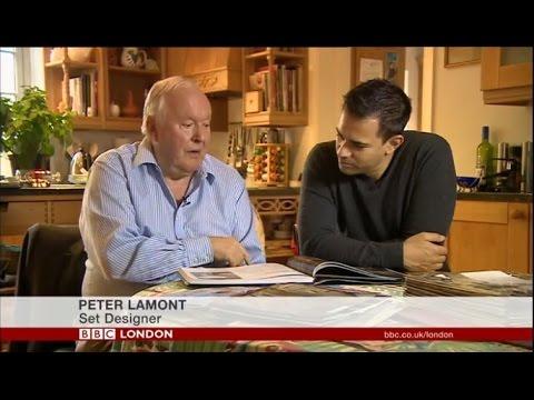Peter Lamont, oscar-winning James Bond set-designer talks to BBC London about his 60-year career