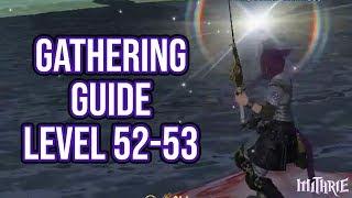 FFXIV Heavensward 3.0 0654 Gathering Guide Level 52 to 53